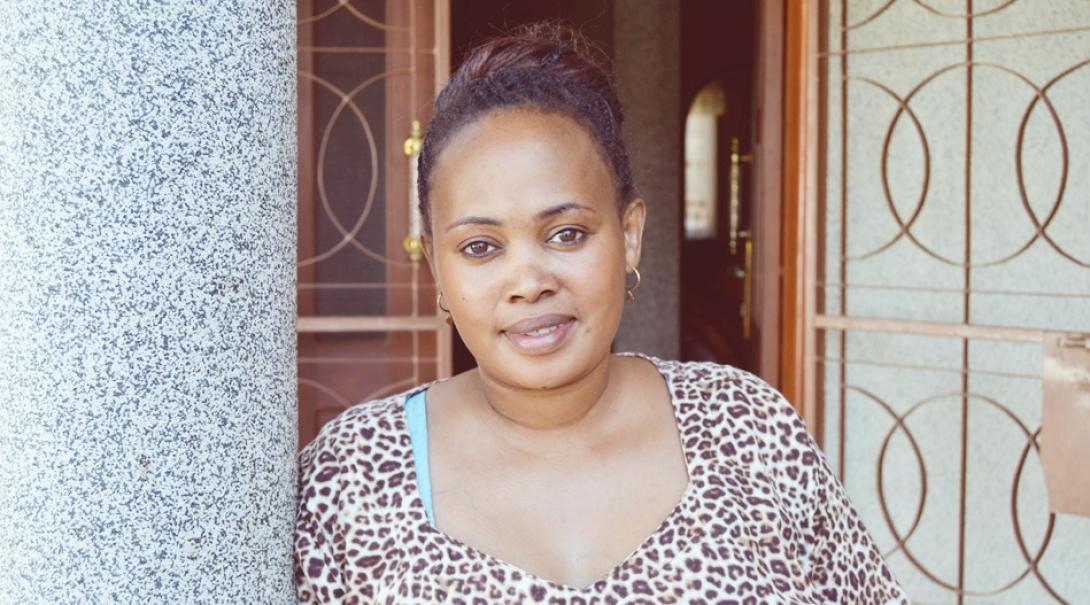タンザニアのホストマザー